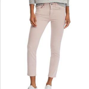 NEW AG Prima Crop Skinny Jeans Peaked Pink